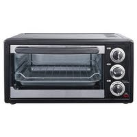 Courant TO-1564 6 Slice Convection Toaster Oven, Black