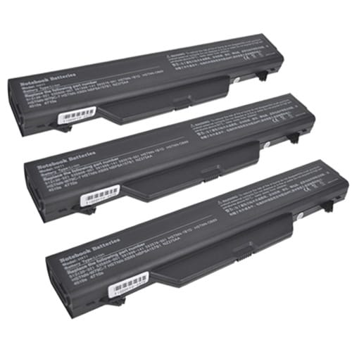 Replacement Battery 4400mAh for HP NZ375AA / NBP8A157B1 Models (3 Pk)