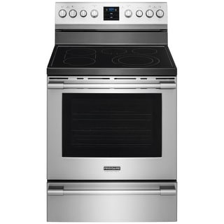 Frigidaire FPEF3077Q 30 Inch Wide 6.1 Cu. Ft. Freestanding Electric Range with PowerPlus Convection from the Professional