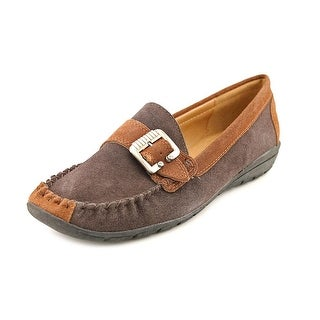 Beacon Monica Women W Round Toe Suede Loafer