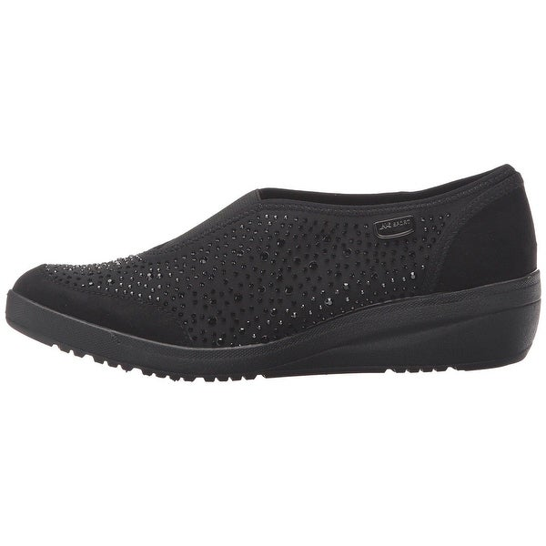 Anne Klein Womens yarmilla Fabric Low Top Slip On Fashion Sneakers - 5