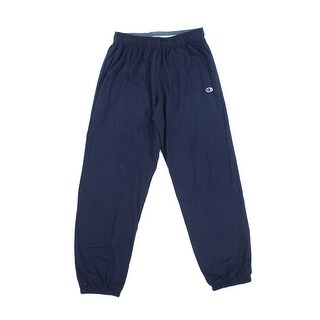 Champion NEW Blue Men's Size Large L Athletic Track & Sweat Pants