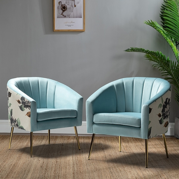 Aiago Barrel Chair Set of 2 for Living Room. Opens flyout.