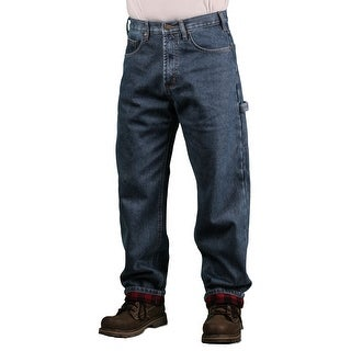 Outback Rider Men's Flannel Lined Carpenter Jeans