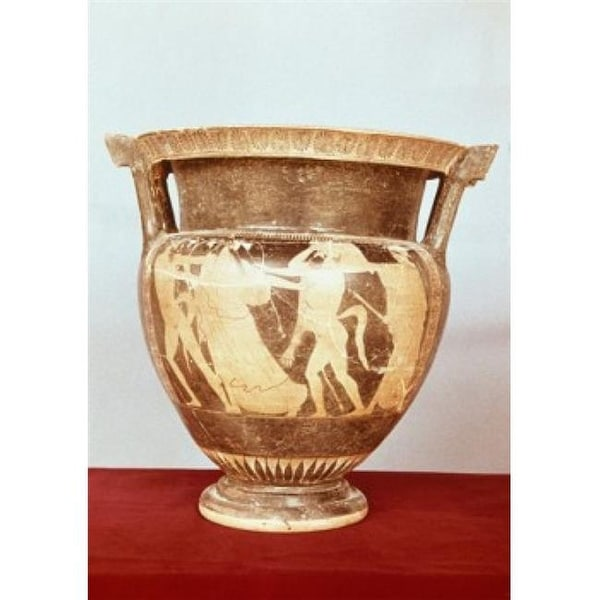 Shop Attic Red Figure Krater Vase Greek Art Poster Print 18 X 24