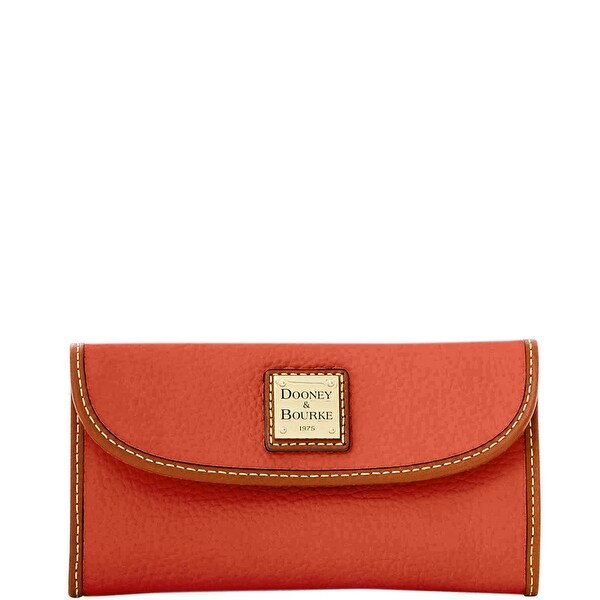 Dooney & Bourke Pebble Grain Continental Clutch (Introduced by Dooney & Bourke at $128 in Jul 2016)