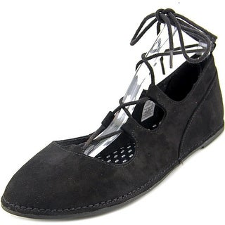 Rocket Dog Malt Women  Round Toe Synthetic Black Flats
