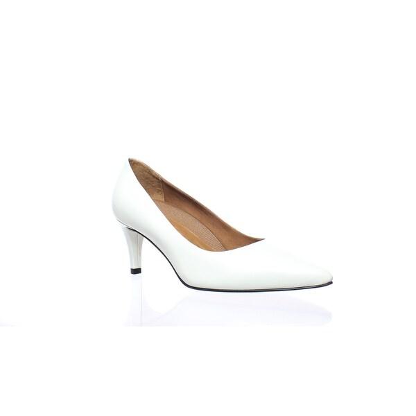 335d176bd4 Shop Walking Cradles Womens Sophia White Cashmere Pumps Size 6 (2E ...