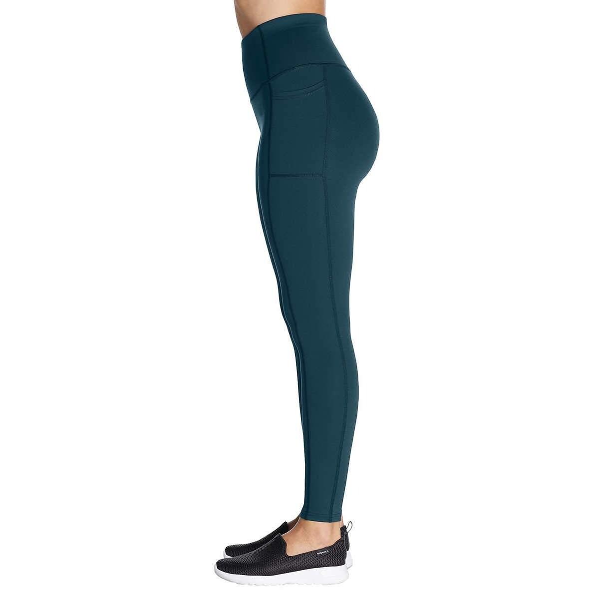 Skechers Womens Walk Go Flex High Waisted 2-Pocket Yoga Legging
