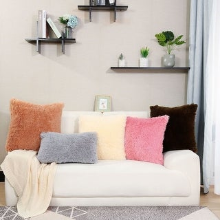 """24""""x24"""" Deluxe Home Decorative Throw Pillow Case Cushion Cover for Sofa/Couch/Bed/Car"""