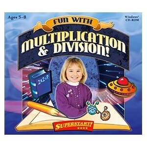 """Selectsoft LPFUNMUDIJ Selectsoft Fun with Multiplication and Division - Educational Game Jewel Case Retail - PC, Mac"""