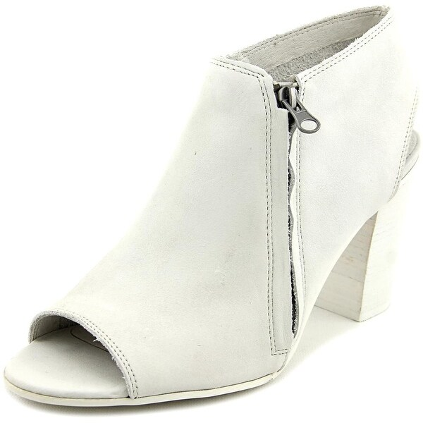 Matisse Dolan Women Open-Toe Leather Bootie
