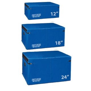 First Place Economy Foam Soft Plyo Boxes - Blue