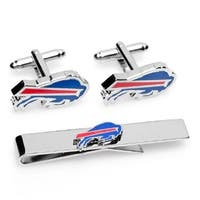 Cufflinks  Buffalo Bills Cufflinks & Tie Bar Gift Set, Blue