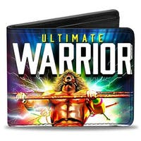 Ultimate Warrior Electrified Pose Bi Fold Wallet - One Size Fits most