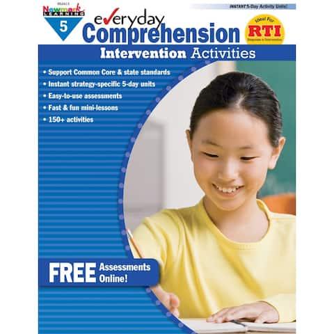 Everyday Comprehension Gr 5 Intervention Activities