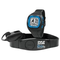 GPS Watch with Heart Rate  Navigation  Speed & Distance - Black