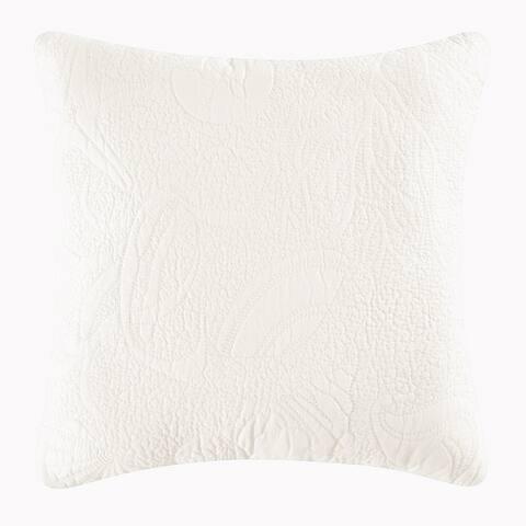 White Shell Matelasse Quilt (Shams Not Included)