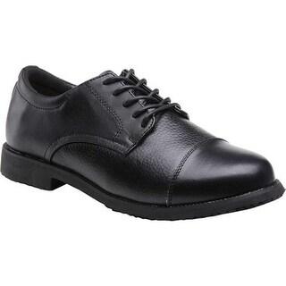 Mt. Emey Men's 2013 Cap Toe Work Shoe Black Leather