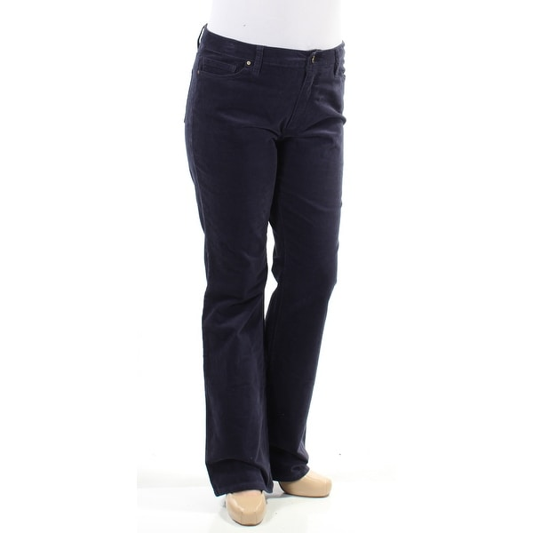 894873c5664bd Shop TOMMY HILFIGER Womens Navy Corduroy Pants Size  12 - Free Shipping On  Orders Over  45 - Overstock.com - 26171070