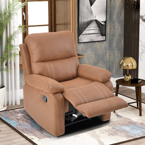 Merax Manual Recliner Chair with Padded Seat
