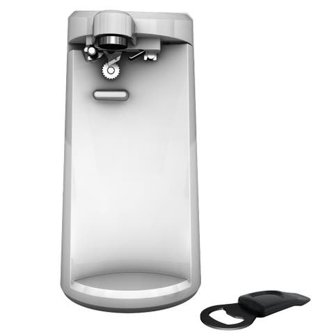Black & Decker EC500W EasyCut Extra-Tall Can Opener, White