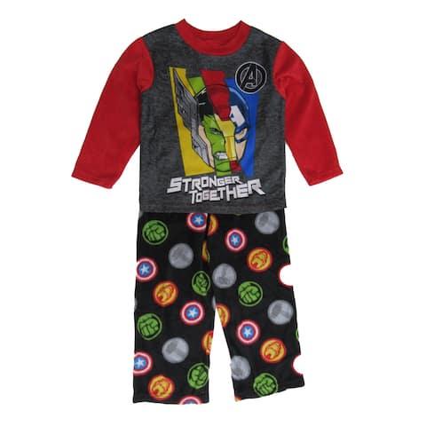Disney Multi Marvel The Avengers Stronger Together Pajama Set Big Boys