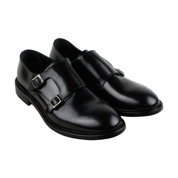Kenneth Cole New York Design 10794 Mens Black Casual Dress Oxfords Shoes
