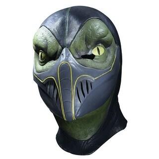 Adult Reptile Mortal Kombat Deluxe Latex Halloween Mask