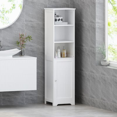Heineberg Free-standing Bathroom Storage Cabinet by Christopher Knight Home