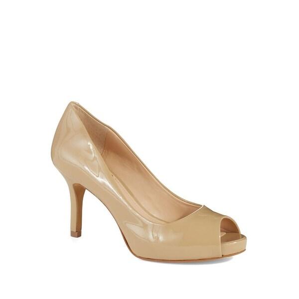 6c395b55e1 Shop Vince Camuto Womens Kiley Leather Open Toe Classic Pumps - 8.5 ...