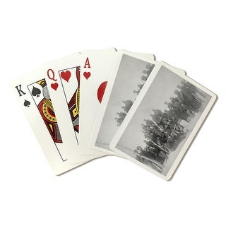 Black Buffalo Soldiers of the 25th Infantry - Vintage Photograph (Playing Card Deck - 52 Card Poker Size with Jokers)