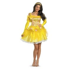 Sexy Beauty And The Beast Belle Disney Costume