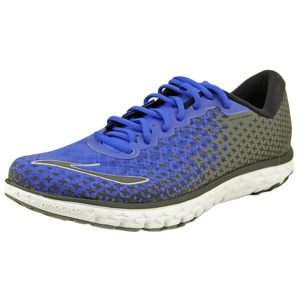 Brooks Pureflow 5 Men Round Toe Synthetic Blue Running Shoe