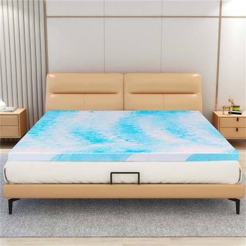 AOOLIVE King Size 3 Inches Memory Foam Mattress
