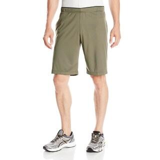Reebok Workout Ready Poly Training Shorts - Modern Olive