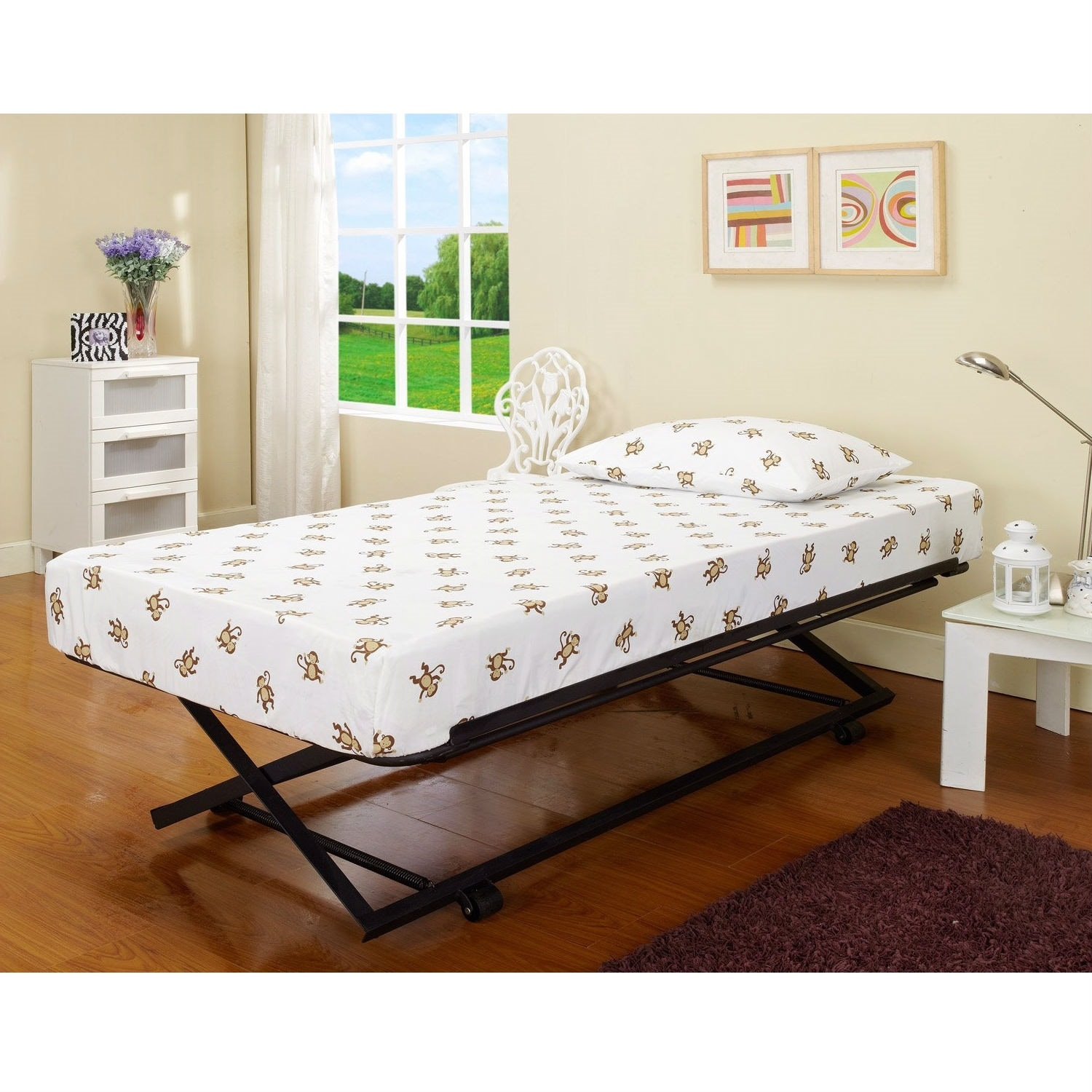 Twin Size Pop Up Trundle For Day Beds Or Guest Bed On Sale Overstock 29083985