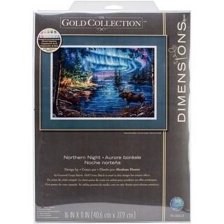 Dimensions-compté gold cross stitch kit-northern night-D70-35312