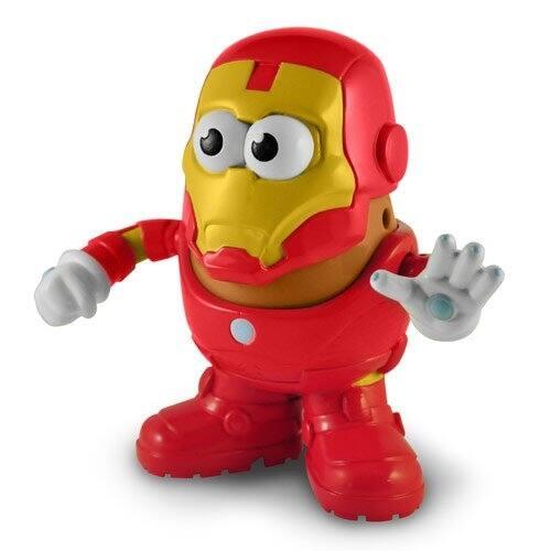 Shop Mr Potato Head Figure Marvel Iron Man Multi Overstock 13668077
