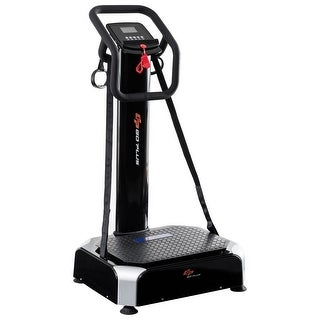 Goplus Dual Motors 4 Mode Crazy Fit Full Body Vibration Platform Fitness Machine