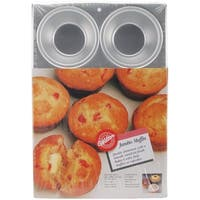 "Jumbo Muffin Pan-6 Cavity 4""X2"""