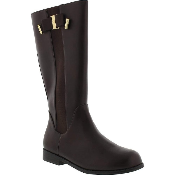 6ebd848b3031 Shop Kids Michael Kors Girls Emma Valley Knee High Zipper Hiking Boots - us  4 m big kid - Free Shipping On Orders Over  45 - Overstock - 25725162
