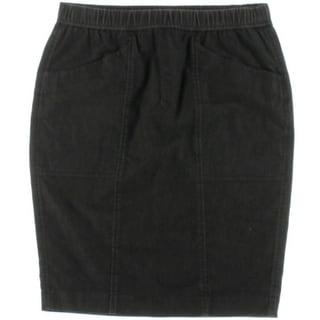 Pure DKNY Womens Knee-Length Stretch Pencil Skirt - S