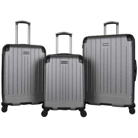 Kenneth Cole Reaction Flying Axis 3-Piece Lightweight Hardside Expandable 8-Wheel Spinner Luggage Set (20in/24in/28in Set)