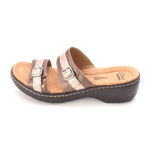 CLARKS Womens HAYLA MARIEL Open Toe Casual Slide Sandals