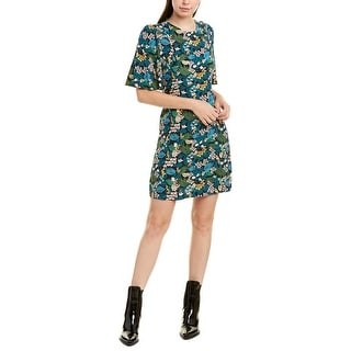 Link to Maje Floral Shift Dress Similar Items in Dresses