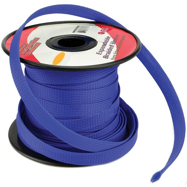 Installation Solution Expandable Braided Sleeve Blue 3/4""
