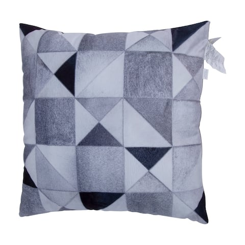 Faux Cowhide Printed Pillow