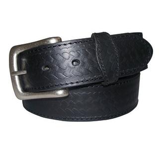 G-Bar-D Western Belt Mens Bridle Top Grain Leather Embossed 5545500