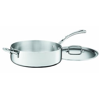 Link to Cuisinart FCT33-28H French Classic Tri-Ply Stainless 5-1/2-Quart Saute Pan with Helper Handle and Cover Similar Items in Cookware